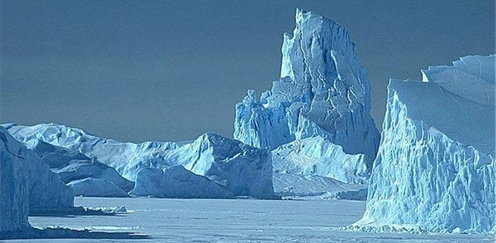El hielo de la Antártida contiene partículas extraterrestres