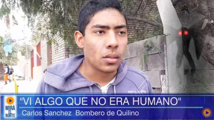 """Testigos y bomberos aseguran haber visto un """"hombre con alas"""" en Argentina"""