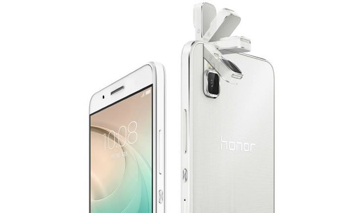 Honor 7i, un smartphone que tiene como principal atracción el incluir una cámara trasera que girará 180°