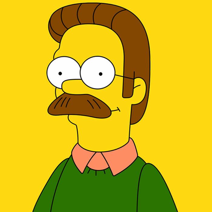 Ned Flanders. Créditos: reddit.com