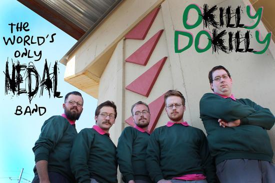 Okily Dokilly. Banda de metal inspirada en Ned Flanders de los Simpson. Créditos:webadictos.com