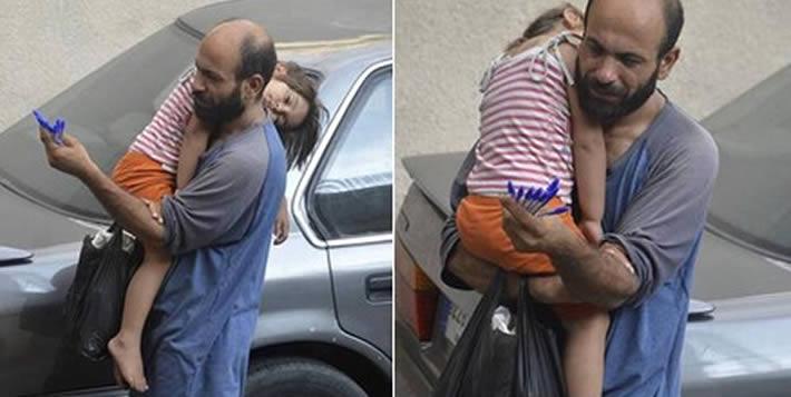 El drama humanitario un refugiado en Siria que ayudó a concientizar a todo el mundo de la gravedad de la situación. foto: Twitter.