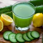 Jugo verde para eliminar grasa abdominal mientras duermes