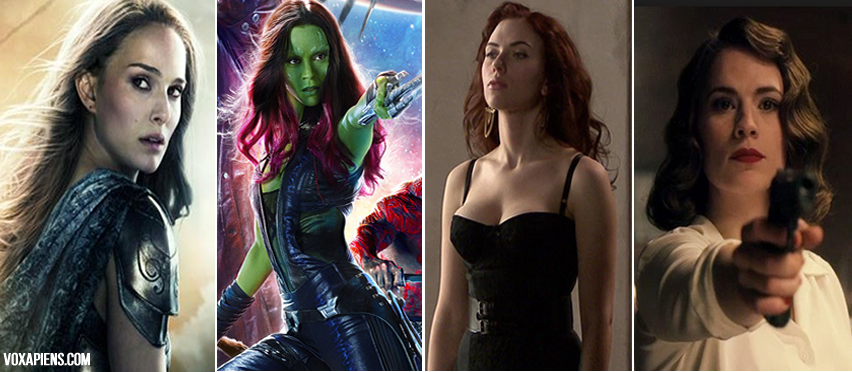 Ranking de las chicas más sexys de películas Marvel