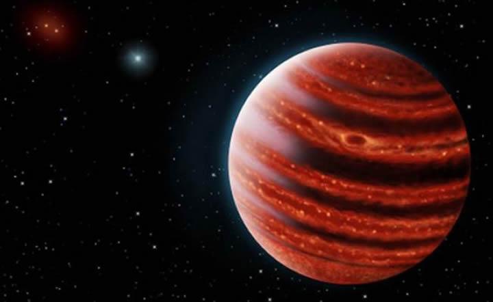 Representación artística del exoplaneta. Foto:Danielle Futselaar y Frank Marchis. Créditos:Agencia de Noticias de El Universal