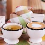 Pequeñas tazas de inodoros para su café y té de la tarde. Foto: seoulsearching.net
