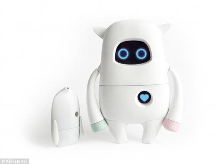 El robot capaz de aprender cada día. Créditos:Kickstarter