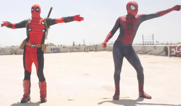 Deadpool vs Spiderman ¿sin superpoderes para el baile?