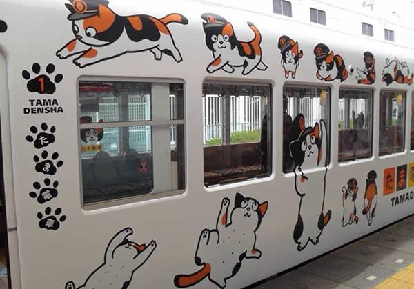 La estación se convirtió en un santuario felino con tiendas de souvenirs, cafetería Tamática y hasta un tren dedicado a Tama. Foto:Hiufu Wong/CNN