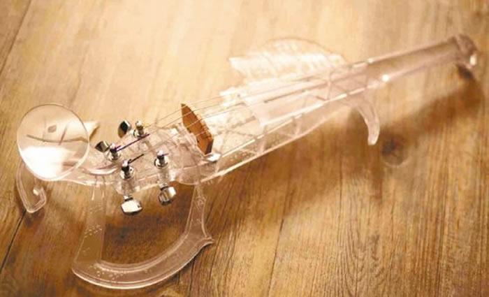 Tres años fueron necesarios para diseñar el primer violín en una impresora 3D
