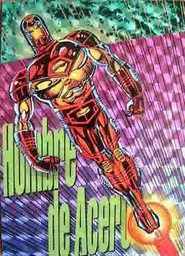 Una de las Pepsi cards prismáticas. Iron Man.