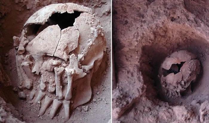 La decapitación era un acto común entre los nativos americanos (Inca, Nazca, Moche, Wari, Tiwanaco, entre otros).