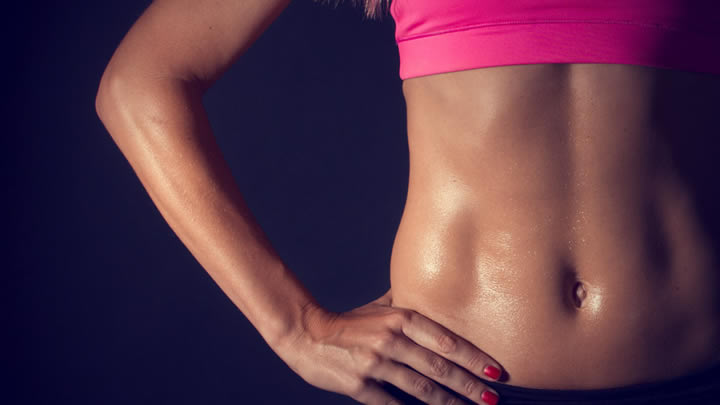 Para obtener un abdomen plano, necesitas una rutina de ejercicio junto con una dieta saludable. Foto: Internet.