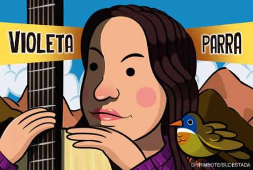 Los libros se concentran en las obras de Violeta Parra y Frida Kahlo y no tanto en su vida romántica. Créditos:Chirimbote.