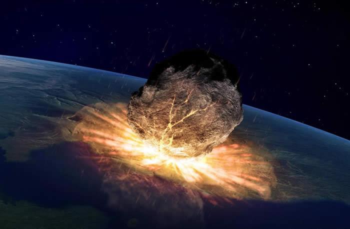 Impacto de asteroide. Créditos:wisegeek.org