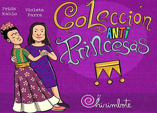 Frida Kahlo y Violeta Parra son las primeras mujere en aparecer en la colección de cuentos. Créditos: Chirimbote/Sudestada