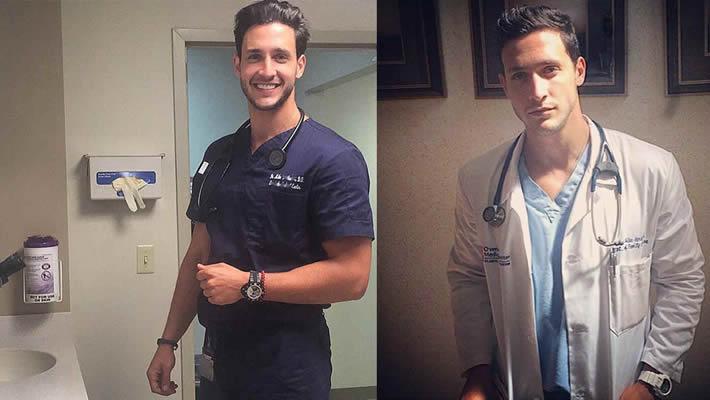 Conoce al doctor más guapo del mundo