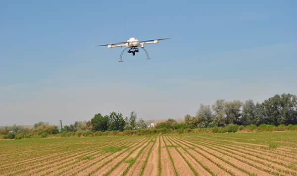 Drones para vigilar las granjas