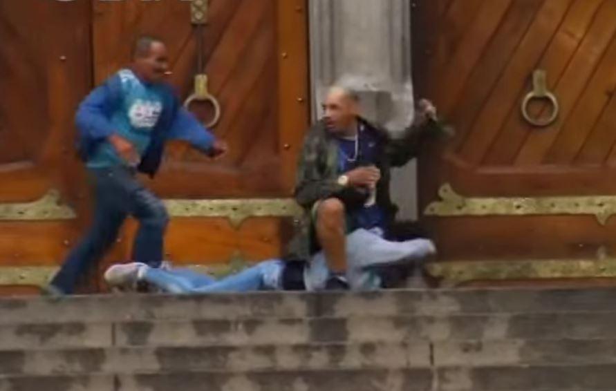 Un héroe de la vida real: Mendigo salva la vida de una mujer en Sao Paulo