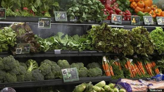 Las verduras frescas, son ricas en nutrientes que pueden ayudar a prevenir el cáncer y las enfermedades cardiovasculares