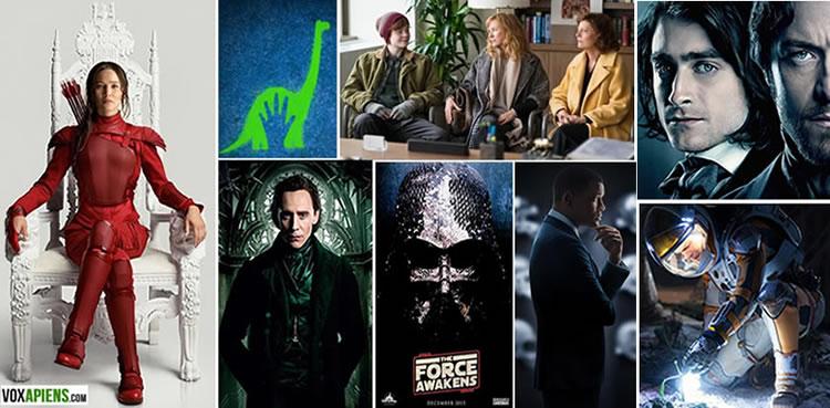 Los mejores estrenos de cine en lo que resta del 2015