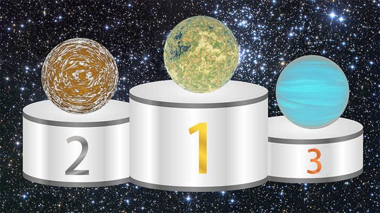 ¡Imaginen los demás planetas! La Tierra ocupa el lugar 10 en habitalidad