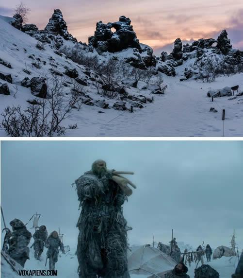 Islandia en juego de tronos
