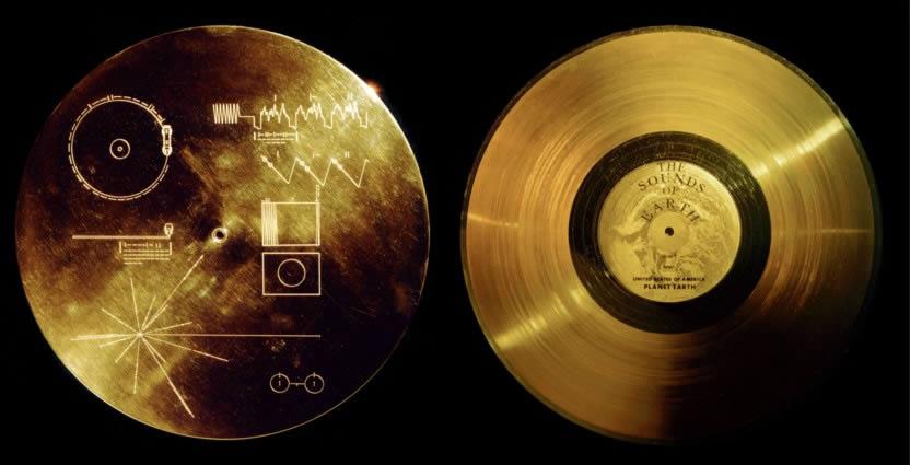 Disco enviado por la NASA