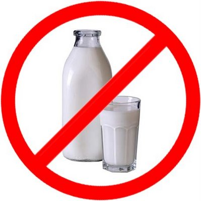 no beber leche