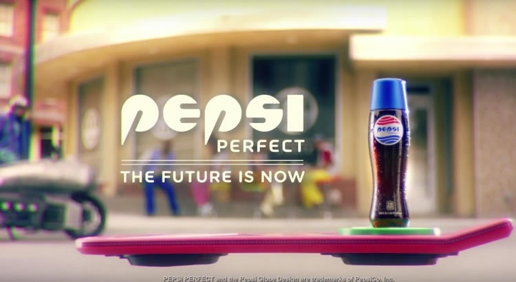 Pepsi Back to the future
