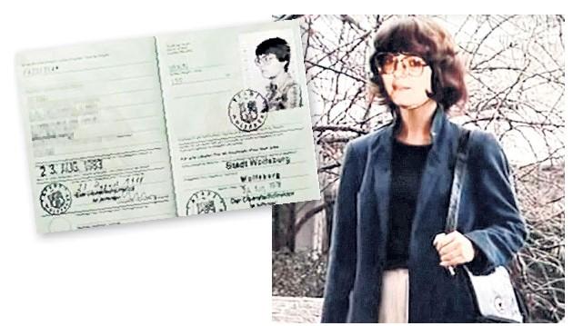 Petra Pazsitka y su identificación estudiantil. Créditos:inquisitr.com