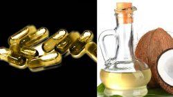 Cápsula de aceite de coco y Cannabis: ¿Un milagro médico?