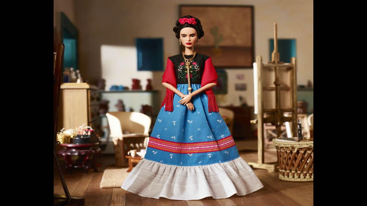 Mattel lanza Barbie de Frida Kahlo