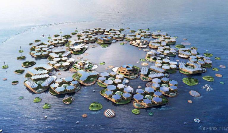 Esta es la ciudad flotante de la ONU que podría albergar a 10.000 personas durante el cambio climático